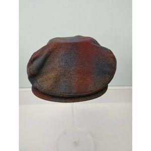 Pendleton Wool Plaid Flat Cap, XL
